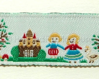 Cute Fairytale Scenes - ribbon/sewing tape