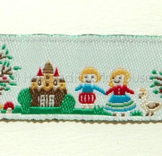 Cute Fairytale Scenes - ribbon/sewing tape