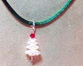 Swarovski Christmas Tree Pendant