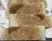 CLEARANCE Soothe-Me Chamomile Tea with Oatmeal - 4 oz Cold Process Soap Bar (Vegan Friendly)