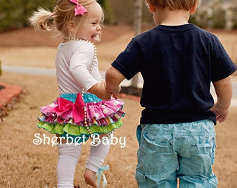 Classic Style Original Sassy Pants Ruffle Diaper Cover Panty    Candy Shop 7