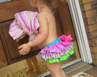 Classic Style Sassy Pants Ruffle Diaper Cover Panty    Candy Shop