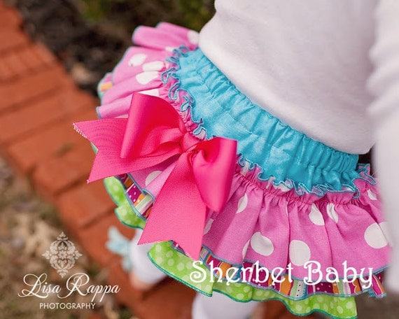 Sassy Pants Ruffle Diaper Cover Panty Candy Shop 7