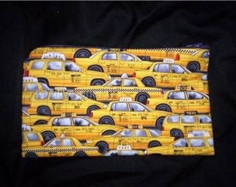 New York City Taxy Cab Change Purse Makeup