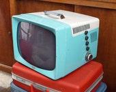 Vintage 50s working television