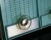 Teal 50s Radio