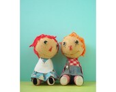 ann and andy doll print