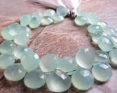Aquamarine Transparent Blue Chalcedony Briolettes