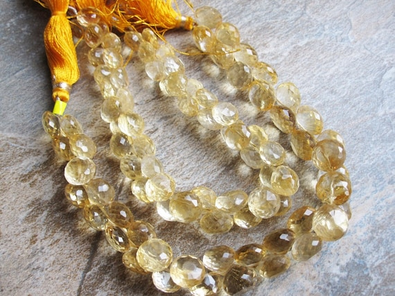 Citrine Faceted Onion