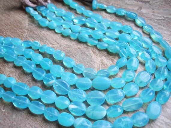 Peruvian Blue Opal Full Strand LAST ONE