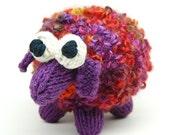FLAT KNIT Sheepish Lamb Amigurumi Plush Toy Knitting Pattern PDF Download