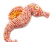 Seahorse Amigurumi Plush Toy Knitting Pattern PDF Digital Download