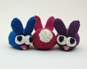 Bun Bons Amigurumi Rabbit Plush Toy Knitting Pattern PDF Digital Download