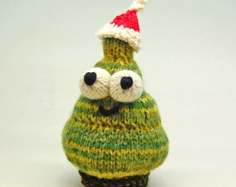 Duggy the Fir Tree Amigurumi Plush Toy Knitting Pattern PDF Digital Download
