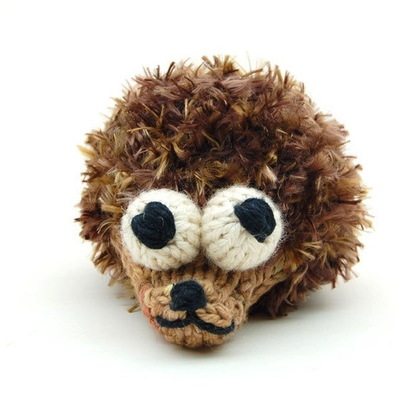 Stuffed Hedgehog Knitting Pattern : Items similar to Hedgehog-Agog Amigurumi Knitting Plush ...