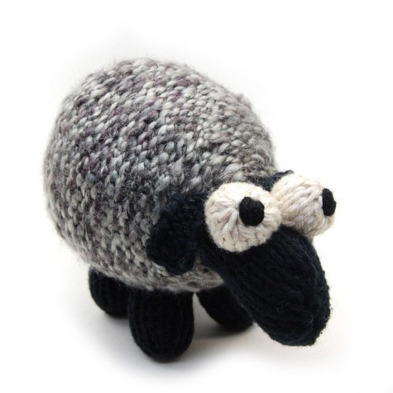 Sheepish Lamb Knit Amigurumi Plush Toy Pattern PDF Digital