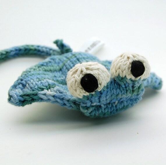 Manta Ray Knitting Amigurumi Toy Plush Pattern PDF Digital Download