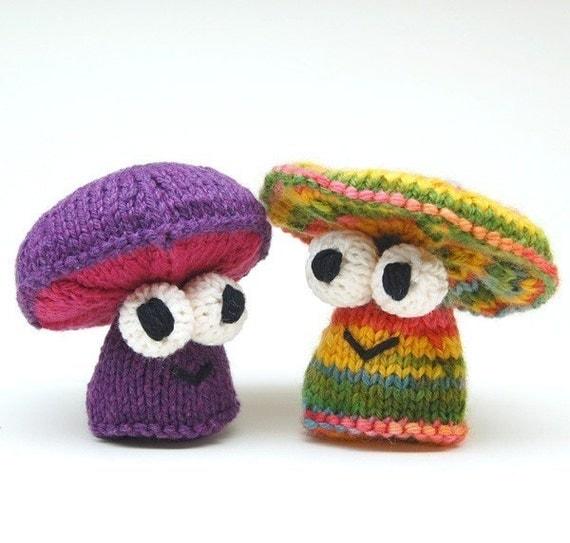 Knit Amigurumi Patterns : Da Fungis Amigurumi Mushroom Knitting Pattern PDF Digital