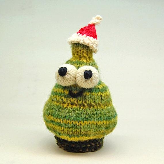 Duggy the Fir Tree Amigurumi Plush Toy Knitting Pattern PDF Digital Download
