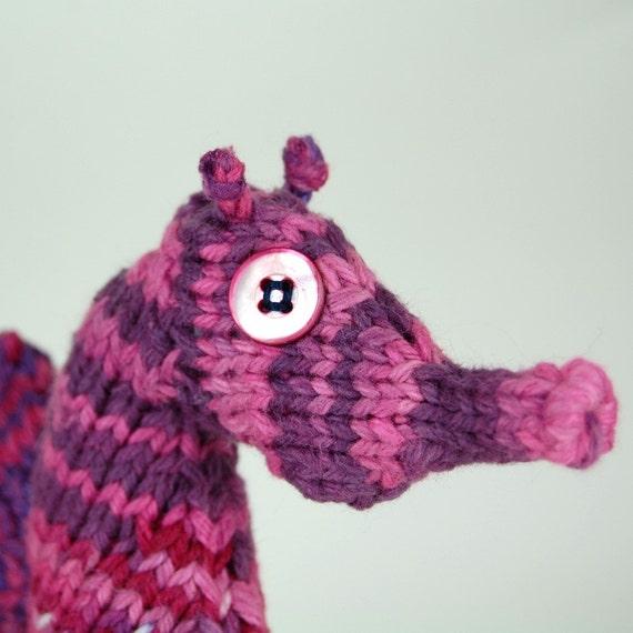 Knit Seahorse Pattern