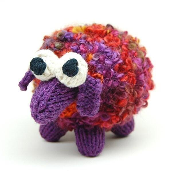 Etsy Amigurumi Sheep : FLAT KNIT Sheepish Lamb Amigurumi Plush Toy Knitting by ...