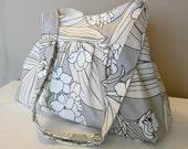 ORCHID...Everyday bag ,Shoulder Bag,  Adjustable strap, Canvas