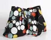 Tote Bag , handbag ,Spotted bag, NEW  Everyday bag , Shoulder Bag , Black ,blue green ,orange,Canvas