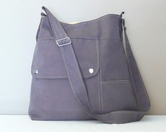NEW Shoulder Bag ...Everyday Bag ,Gray,Adjustable Strap