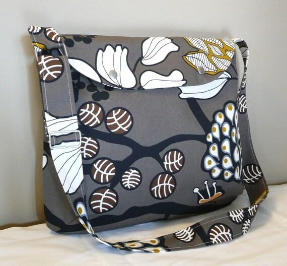 Messenger,Mother's day,  Shoulder bag ,Black,White,Blue,Orange canvas,adjustable strap,cross body