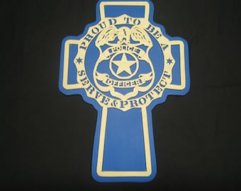 Police Officer Cross