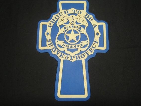 Police Officer Cross