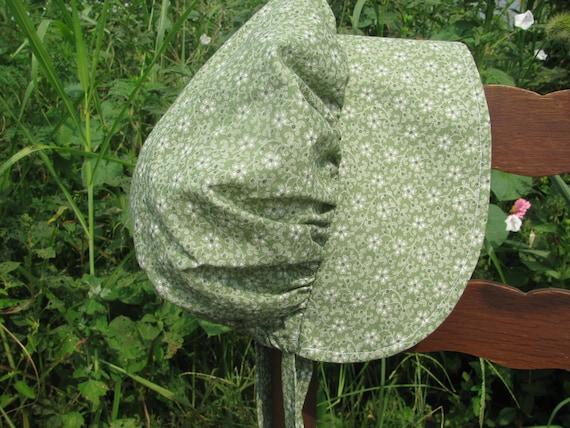 Ladies bonnet, hat, prairie, pioneer, civil war, frontier