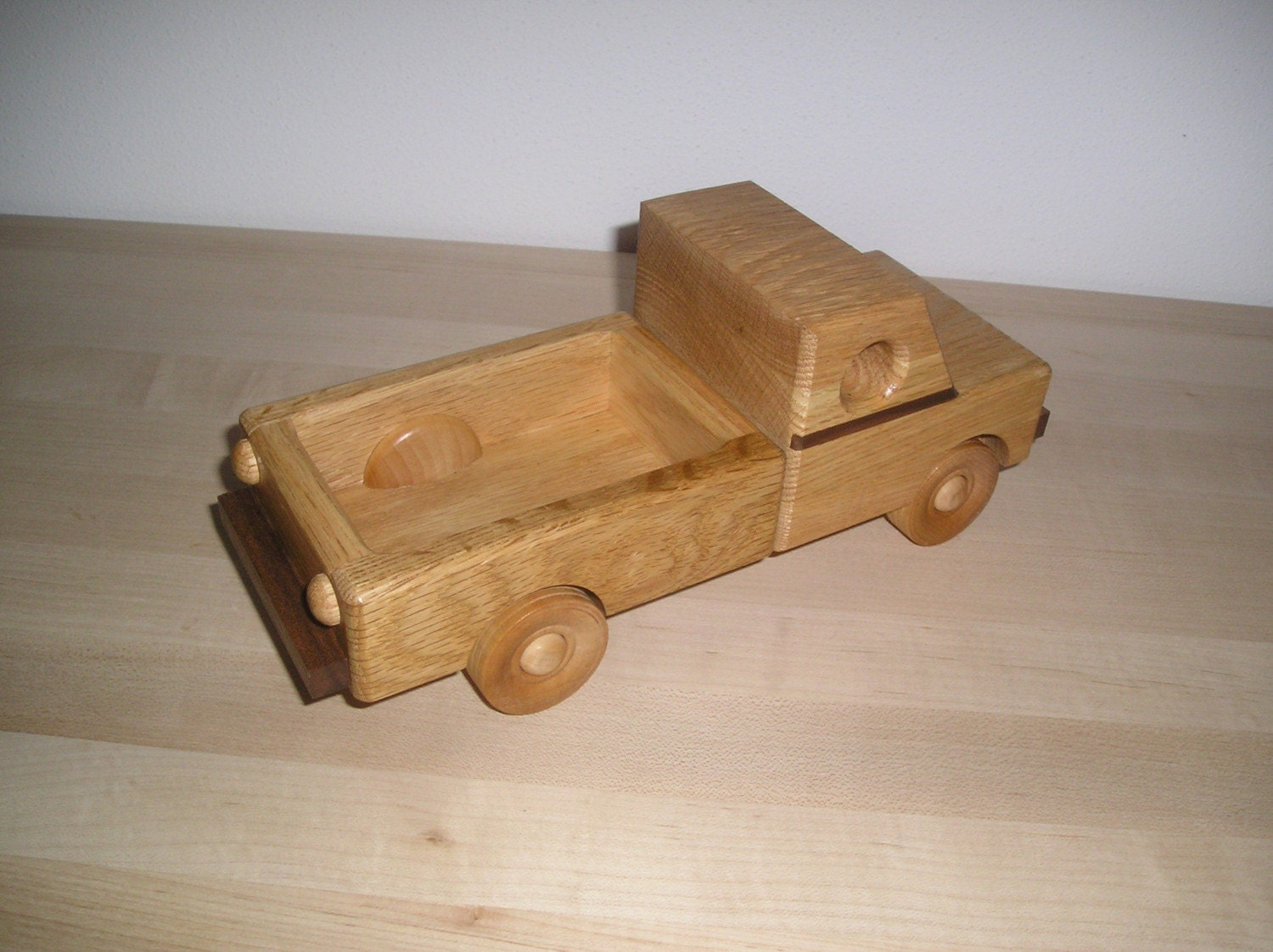 Wooden Toy Pickup Truck | www.galleryhip.com - The Hippest ...