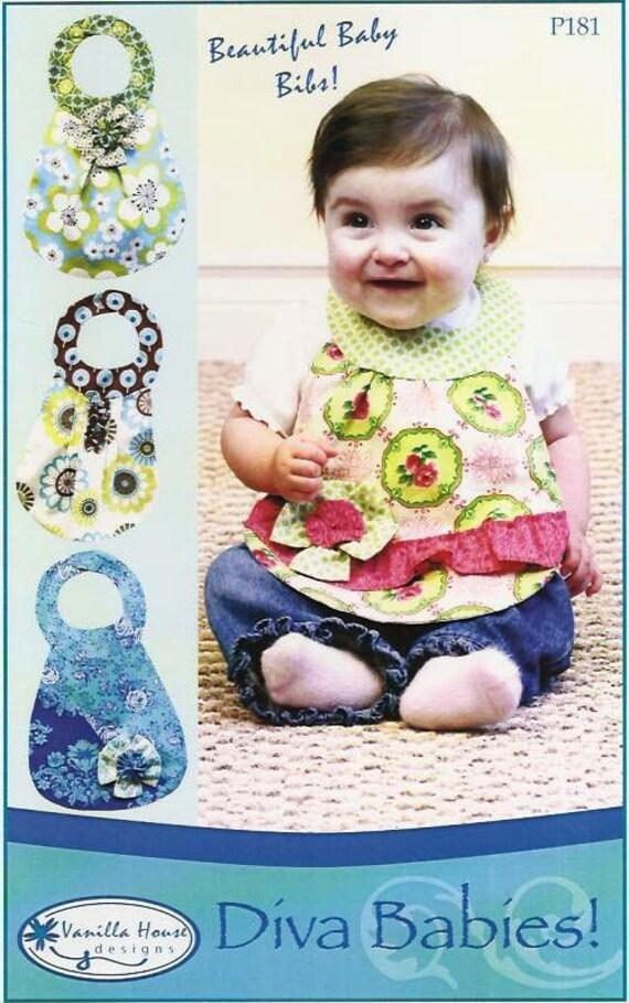 Diva Babies Bib Pattern Easy and Fun to Make