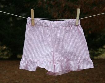 Ruffle Bottom Shorts