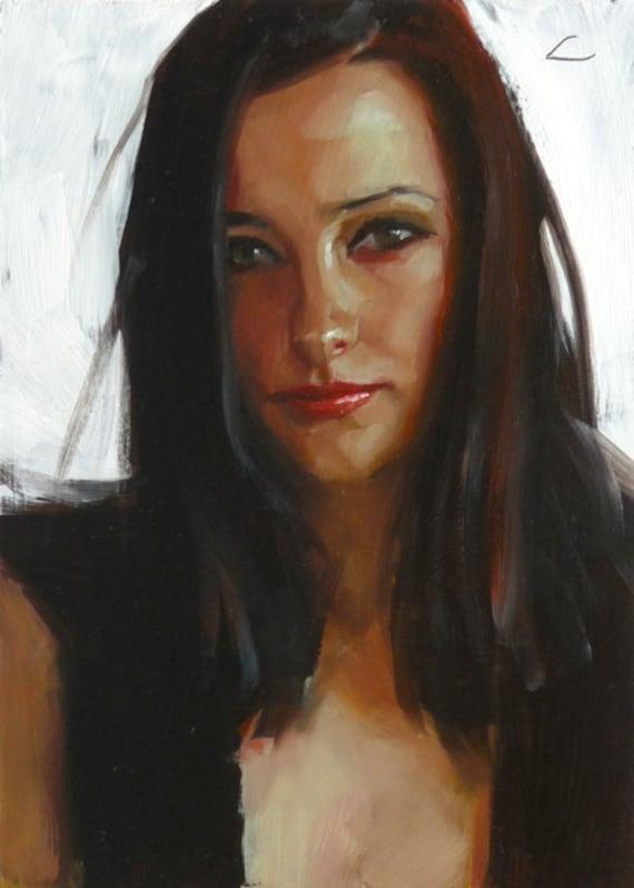 Bright Eyes - Original Oil Painting