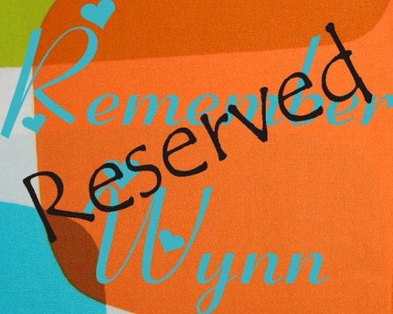 Reserved listing for RB