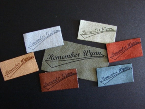 cloth labels for handmade items custom clothing or purse labels for your handmade items 6589