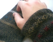 Previously a Hideous Sweater Shorty Wristwarmers