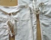 Shanti - Thai Fisher-Baby Pants - Upcycled Organic Cotton - 6m-2T