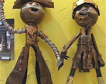 South American Art Sculpture. Happy Holidays, Love to the World.