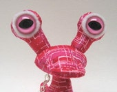 Lil, Adopt an Alien Keychain, OOAK Creature Toy with Birth Certificate