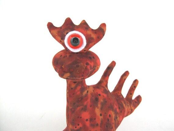 Alien Toy, Stuffed Monster Dragon Plush by Adopt an Alien named Ben