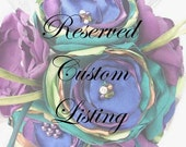 Reserved Custom Listing for KHendricks425 - Deposit for Bridal Bouquet
