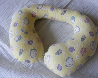 Toddler Neck Pillow, Yellow Baby