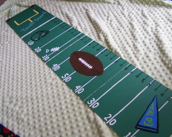 Foldable Children's Growth Chart, Football