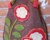 flower slouch bag
