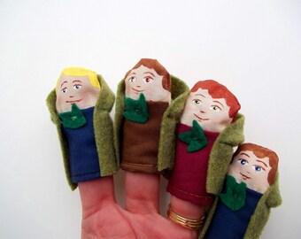 Finger Puppet Set The Hobbits