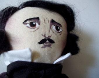 Art Doll Egdar Allan Poe