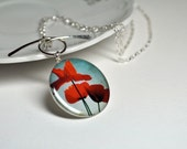 POPPY. Toggle Photo Necklace- (Sterling Silver)